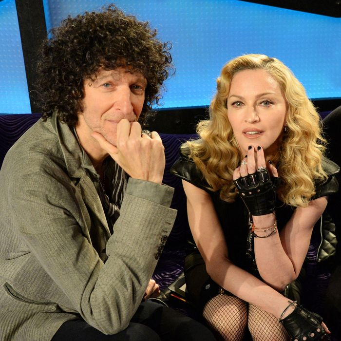 Howard Stern with Madonna.