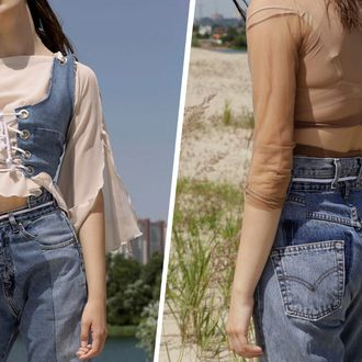 7b5ae31ce People usually think of Etsy as a place to buy jewelry or little household  items, but if you search in the right places, it can be a denim wonderland.