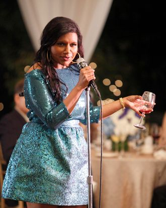 Mindy (Mindy Kaling, L) is a skilled OB/GYN navigating the tricky waters of both her personal and professional life in the new comedy THE MINDY PROJECT premiering this fall on FOX.