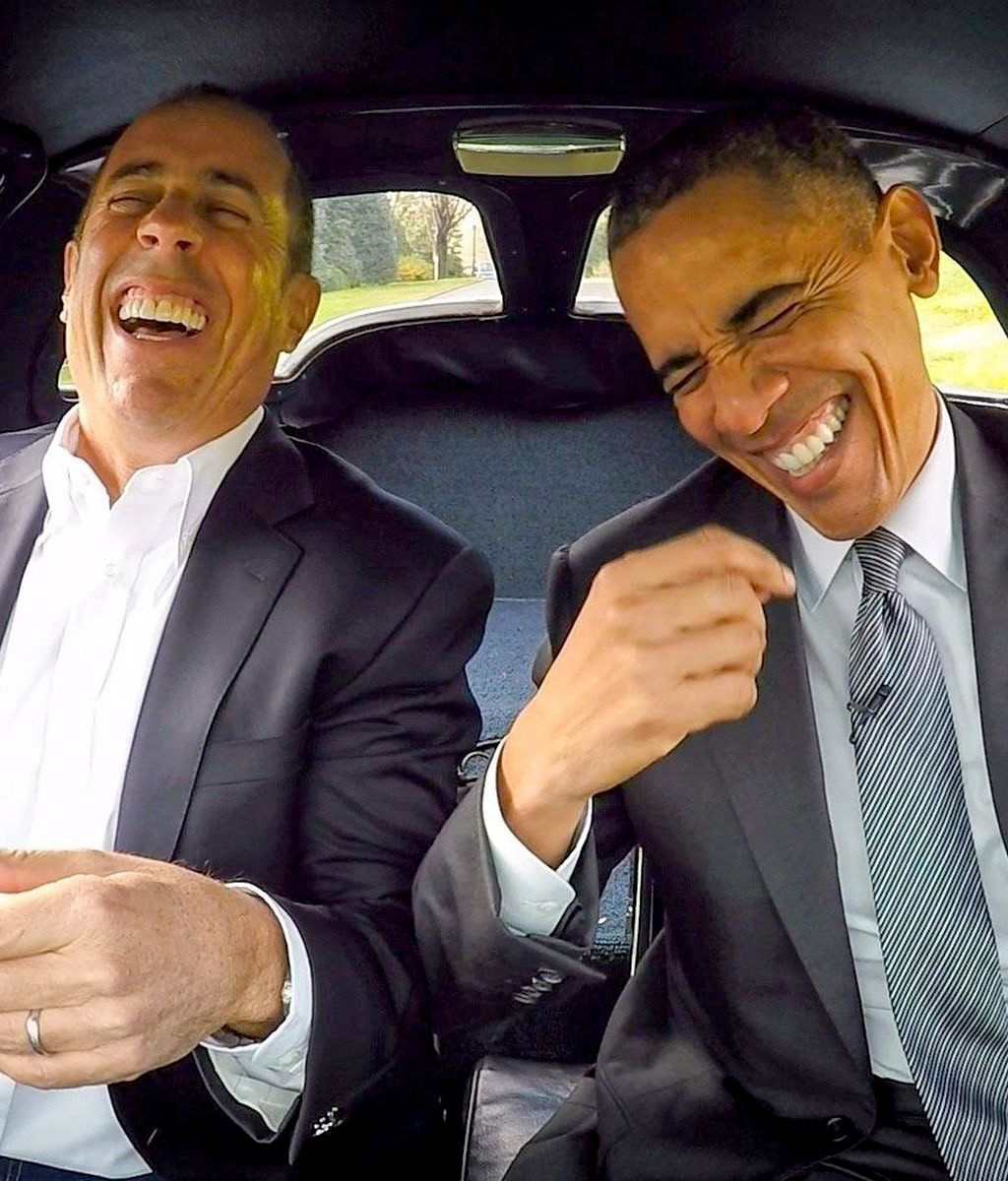9c5e7bbd91ee Jerry Seinfeld and Barack Obama on Comedians in Cars Getting Coffee. Netflix