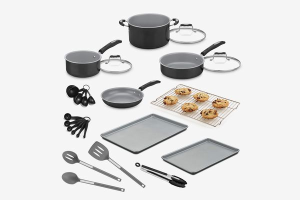 Cuisinart 24-Pc. Aluminum Cookware Set