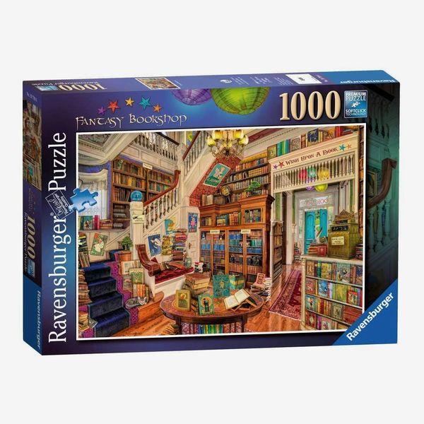 Ravensburger 'The Fantasy Bookshop' 1000 Piece Jigsaw Puzzle