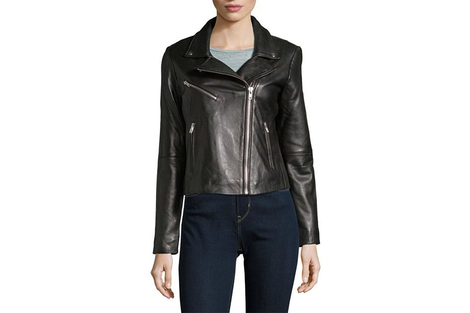 Veda Wright Leather Jacket