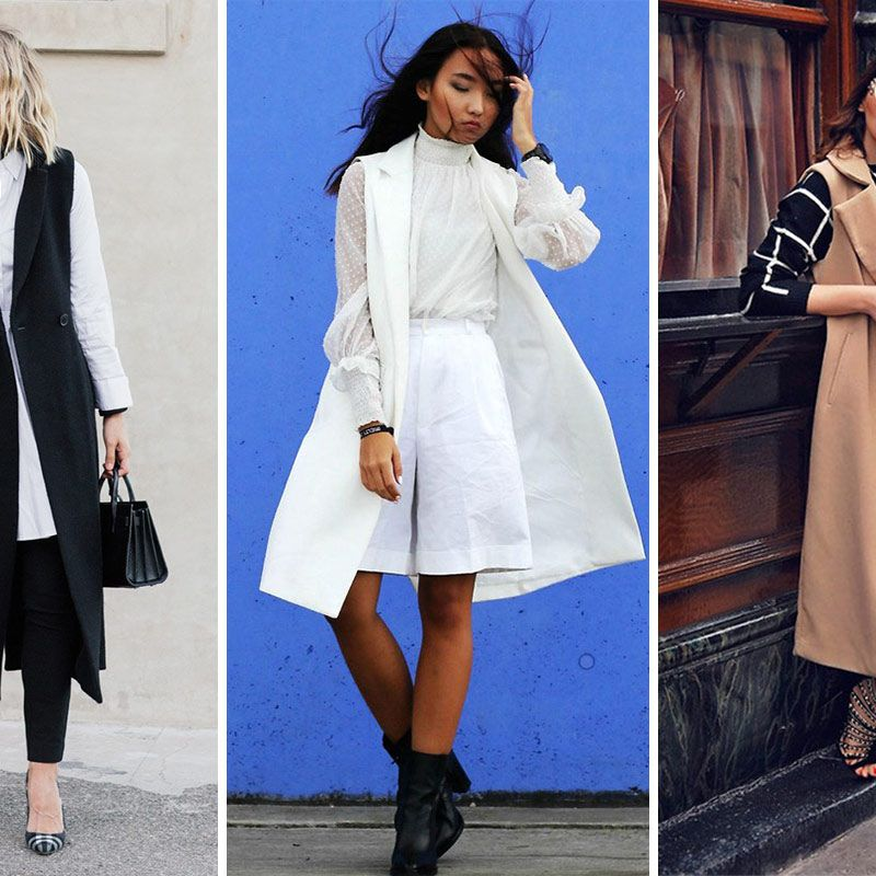 f93dc82a29a6 12 Ways to Wear a Long Vest This Fall