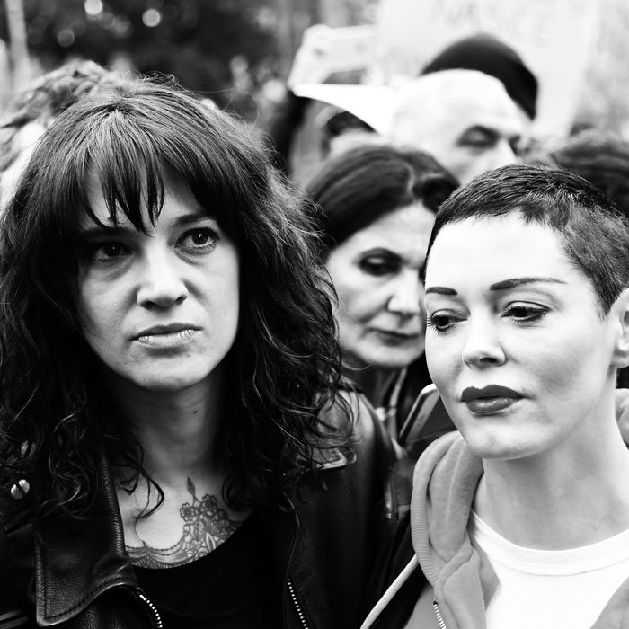 Asia Argento and Rose McGowan.
