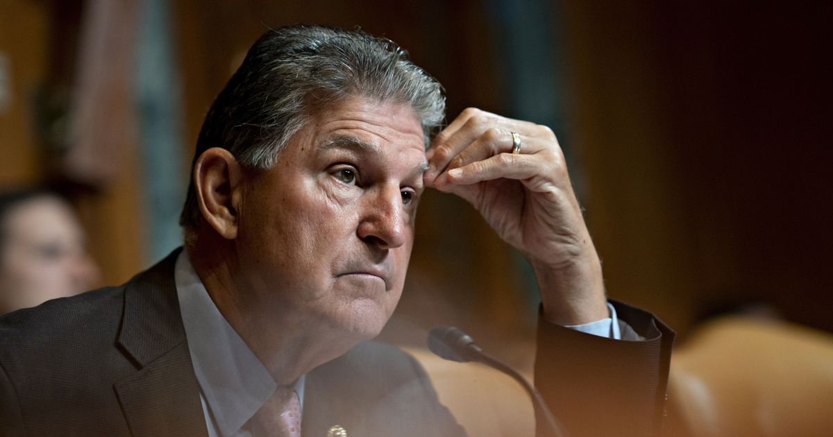 Manchin to Stay in Senate, to the Relief of His Party