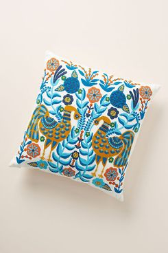 jimena embroidered pillow - strategist best embroidered pillow