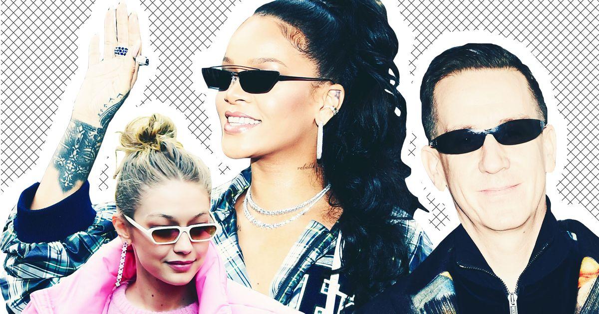 14f91959b 10 Times Celebrities Wore Tiny Sunglasses.
