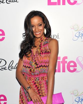 Selita Ebanks attends the Life & Style Celebrates