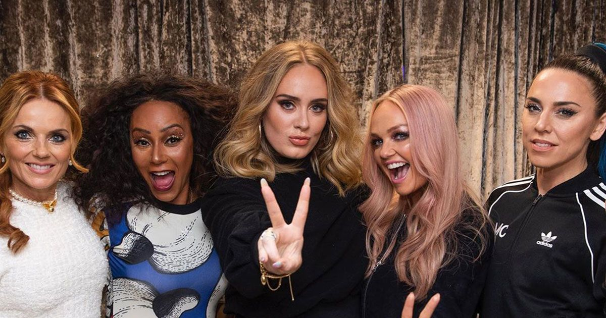 No One Has Ever Had More Fun Than Adele at a Spice Girls Concert