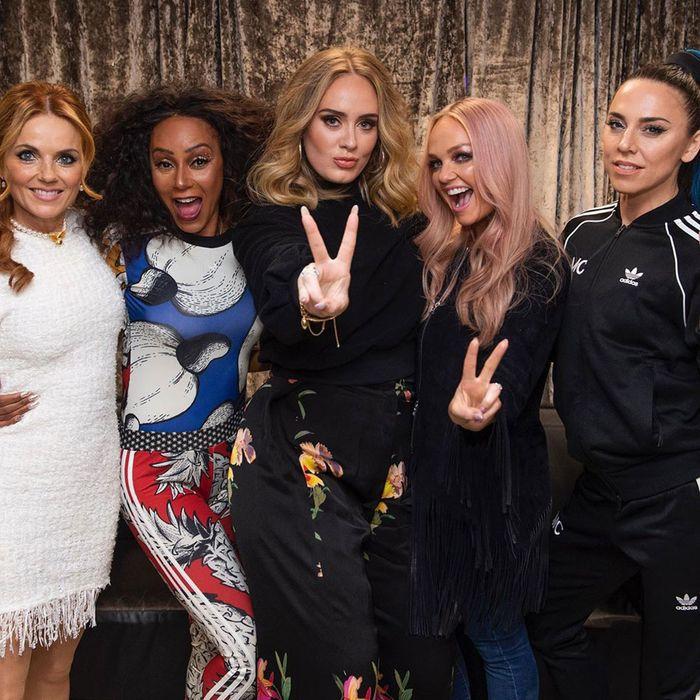 Znalezione obrazy dla zapytania Adele Spice Girls