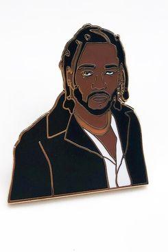 Kendrick Enamel Pin