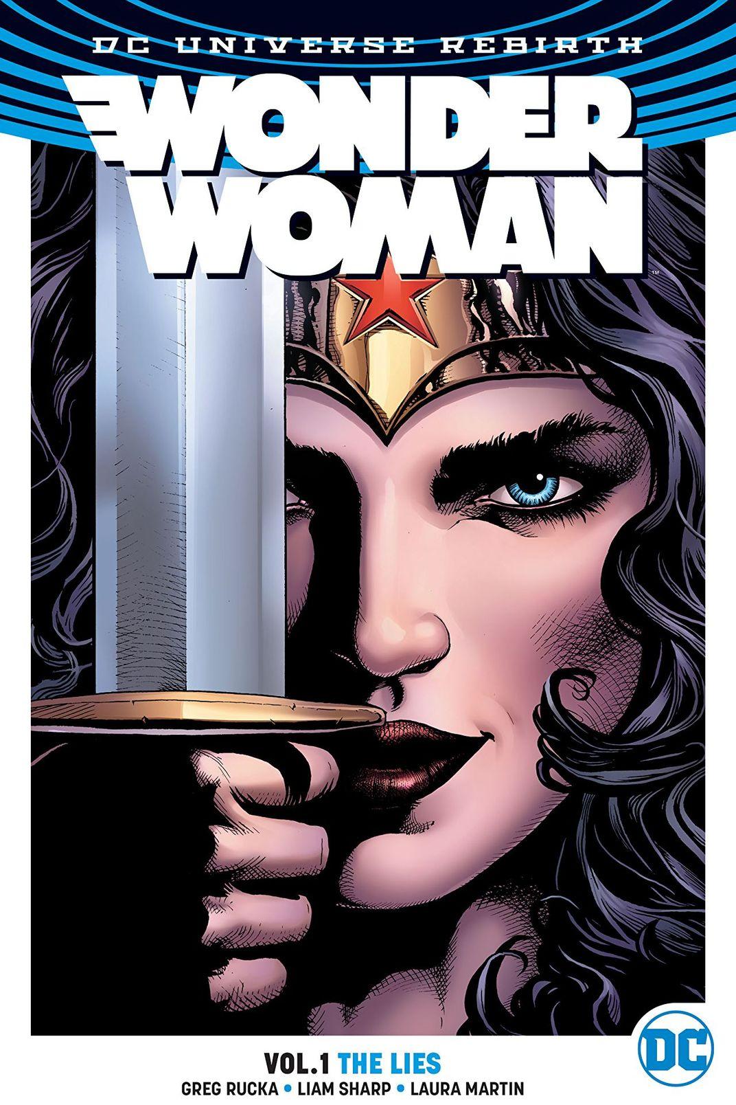 Wonder Woman Rebirth Comics Vol. 1
