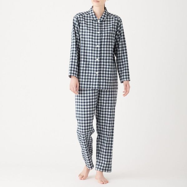 Muji Side Seamless Double Gauze Pyjama