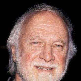 Richard Matheson attends the premiere of