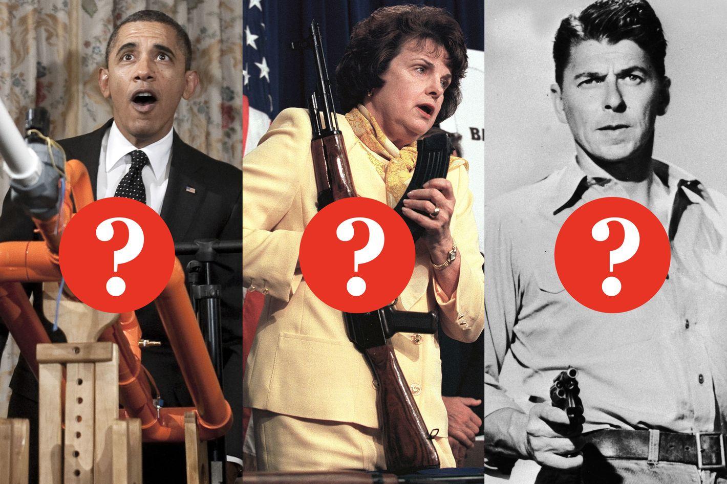 Gun Control Quotes Identify The Guncontrol Quote Obama Feinstein Or Reagan