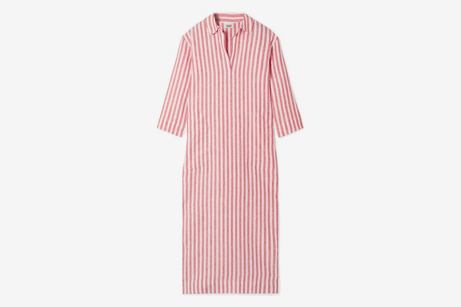 c7de98df1c Sleepy Jones Celia striped linen kaftan