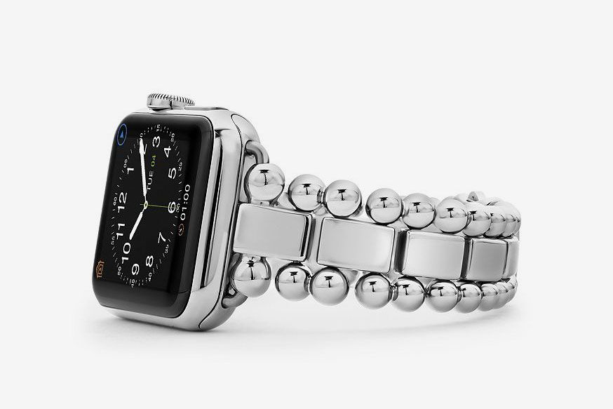 LAGOS Stainless Steel Smart Caviar Watch Band, 38mm