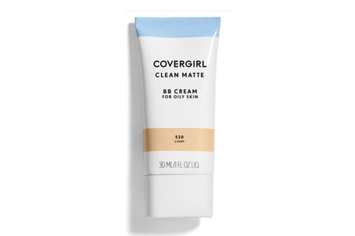 White tube of Covergirl BB cream makeup