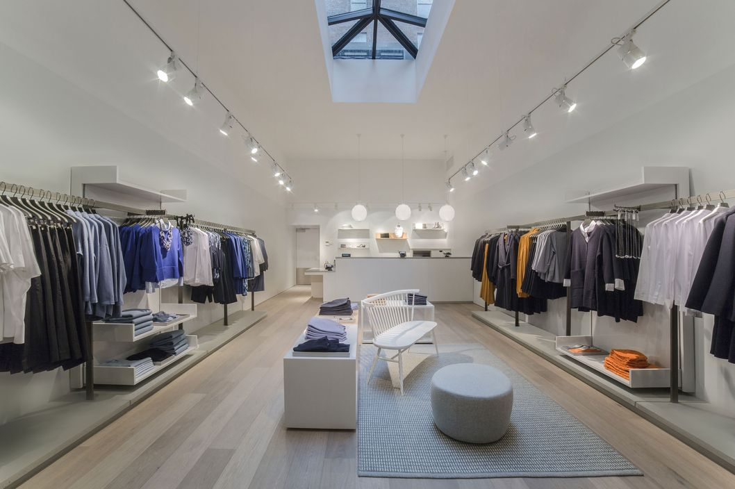 Finally Cos Opens In New York The Cut