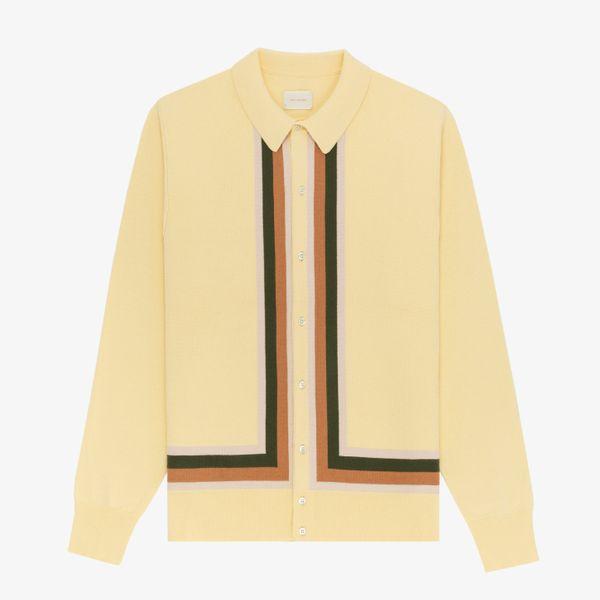 Aimé Leon Dore Polo Cardigan Sweater