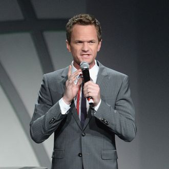 Neil Patrick Harris speaks at the 20th Annual Race To Erase MS Gala