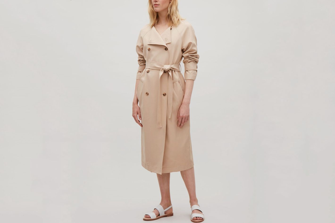 COS Belted Trench