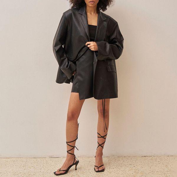 Ushatáva Eco-leather Jacket
