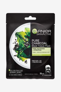 Garnier Charcoal and Algae Purifying and Hydrating Face Sheet Mask