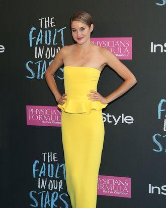 NEW YORK, NY - JUNE 02: Actress Shailene Woodley attends