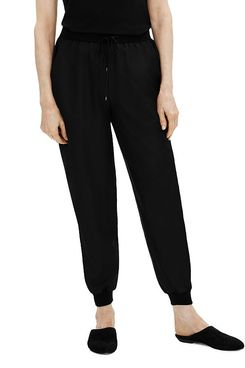 Eileen Fisher Silk Jogger Pants