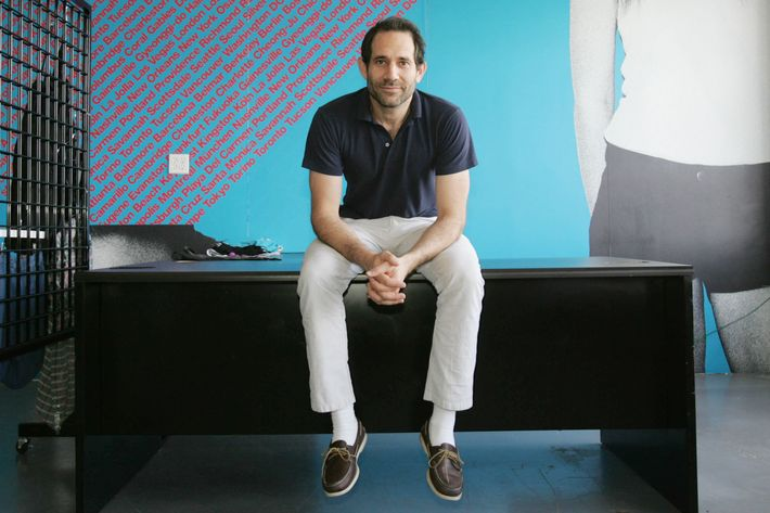 The once (and future) CEO Dov Charney.