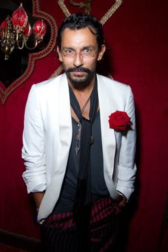 PARIS, FRANCE - OCTOBER 04: Haider Ackermann attends the Irreverent Dinner hosted by Carine Roitfeld at Cabaret Raspoutine on October 4, 2011 in Paris, France. (Photo by Victor Boyko/WireImage)