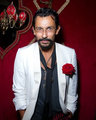 Haider Ackermann, who presumably does like corsages.