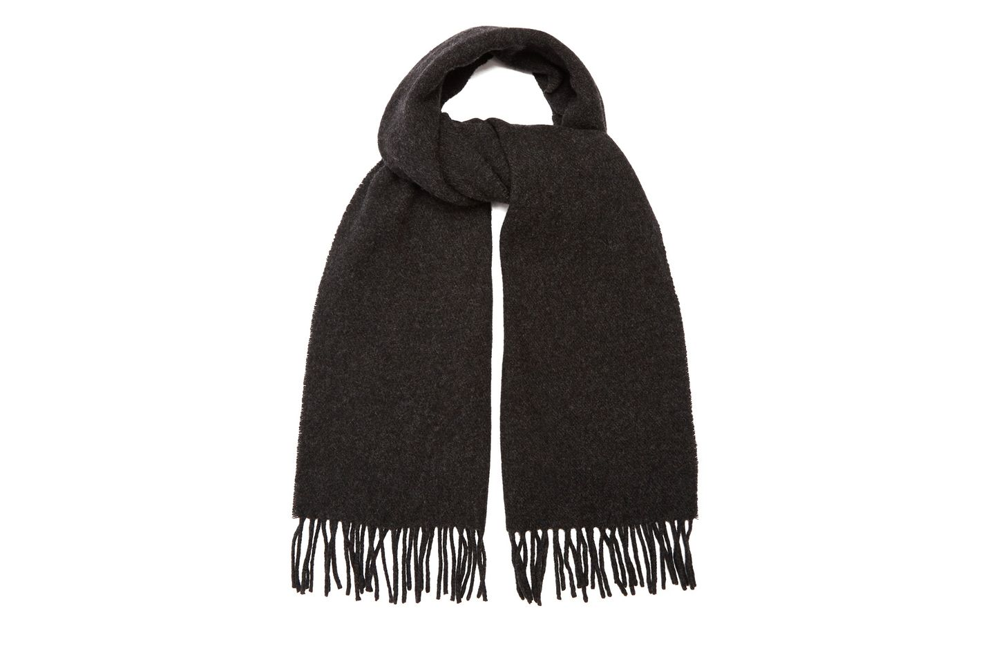 A.P.C. Fringed Wool Scarf