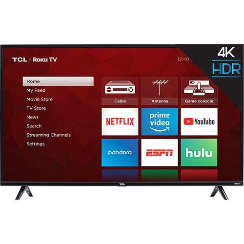 TCL S425 50-Inch Class HDR 4K UHD Smart LED TV