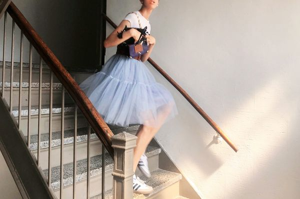 No, My Tulle Skirt Isn't Lanvin — It's Actually $19 From Amazon
