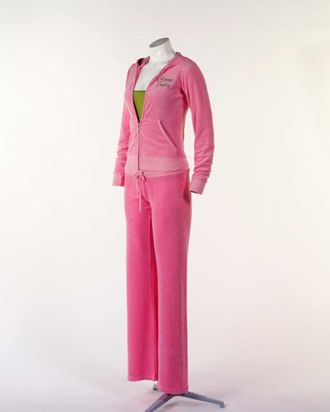 A Juicy Couture tracksuit.