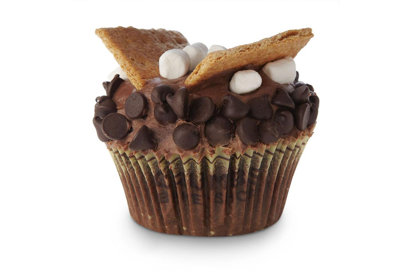 Soar like an eagle, s'mores cupcake!
