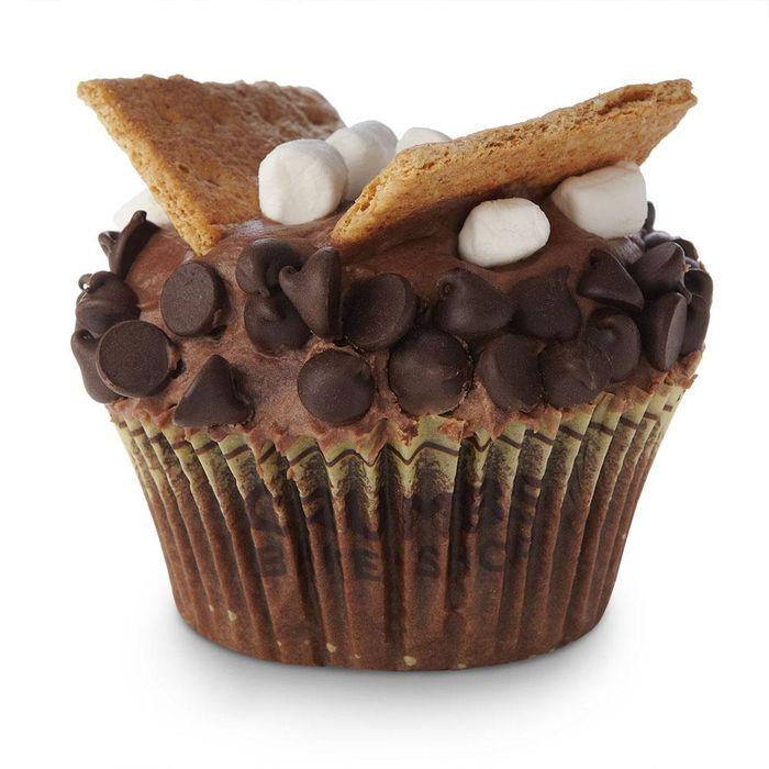Soar like an eagle, s'mores cupcake!