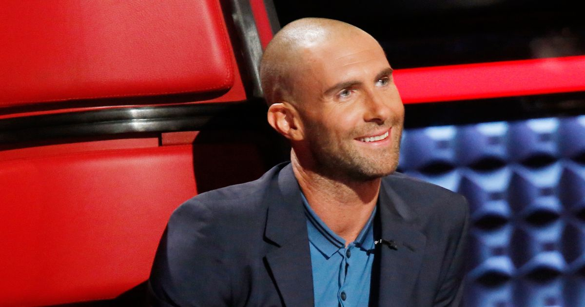 is adam levine�s bald head a sign he�s given up
