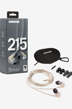 Shure SE215-CL Professional Sound Isolating Earphones with Single Dynamic MicroDriver