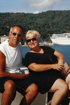 Undated copy photos of Barbara Sheehan and her late husband Raymond Sheehan. Barbara Sheehan testified that her husband, former Police Officer Raymond Sheehan, had allegedly severely beaten her on a previous vacation and that she was afraid to go away with him again. The 50-year-old woman insisted that it wasn't revenge that led her to shoot and kill her husband on Feb. 18, 2008, as he was shaving in their Howard Beach home.  <P> Pictured: Barbara and Raymond Sheehan <P> <B>Ref: SPL317749  200911  </B><BR/> Picture by: Christopher Sadowski / Splash<BR/> </P><P> <B>Splash News and Pictures</B><BR/> Los Angeles:310-821-2666<BR/> New York:212-619-2666<BR/> London:870-934-2666<BR/> photodesk@splashnews.com<BR/> </P> <P><br> Splash News and Picture Agency does not claim any Copyright or License in the attached material. Any downloading fees charged by Splash are for Splash's services only, and do not, nor are they intended to, convey to the user any Copyright or License in the material. By publishing this material , the user expressly agrees to indemnify and to hold Splash harmless from any claims, demands, or causes of action arising out of or connected in any way with user's publication of the material. </P>