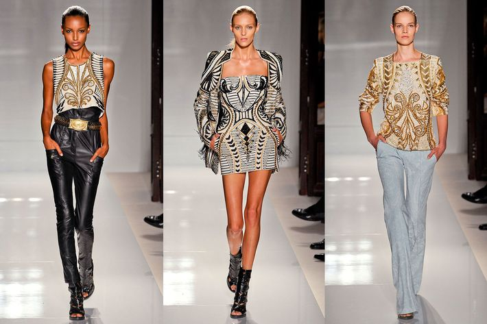 New spring looks from Balmain.