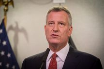 Mayor Bill de Blasio Delivers Update on Hurricane Joaquin Preparedness