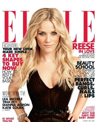 Reese Witherspoon; <em>Elle</em> February 2012