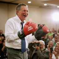 John Kasich Holds Town Hall In Annapolis, MD