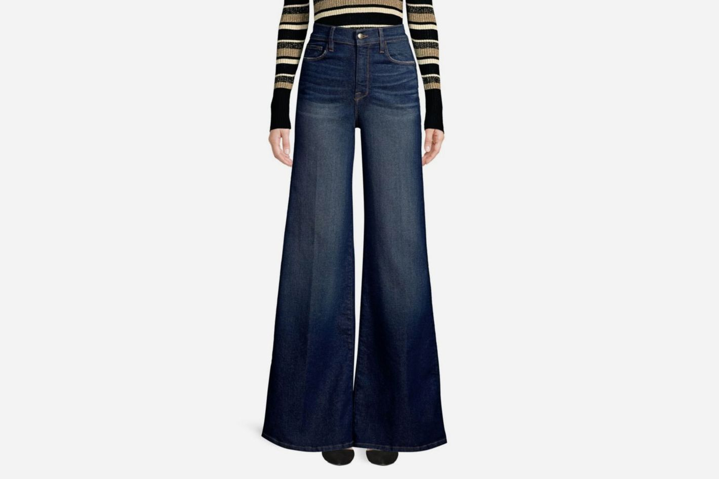 Frame Le Palazzo Wide-Leg Jeans