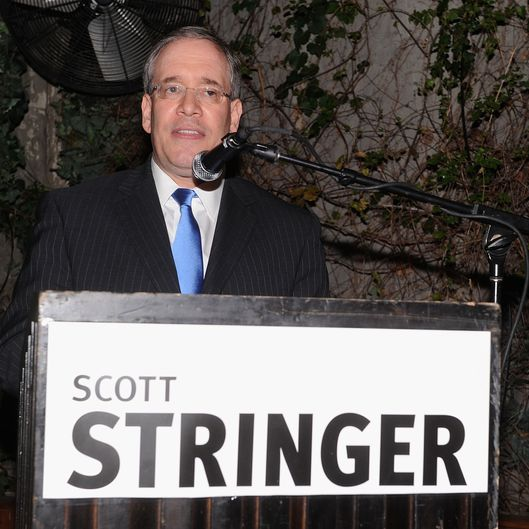 NEW YORK, NY - APRIL 05:  Borough President of Manhattan Scott M. Stringer attends the Scott M. Stringer 2013 Mayoral Campaign fundraiser at the Cabanas at the Maritime on April 5, 2012 in New York City.  (Photo by Jamie McCarthy/Getty Images)
