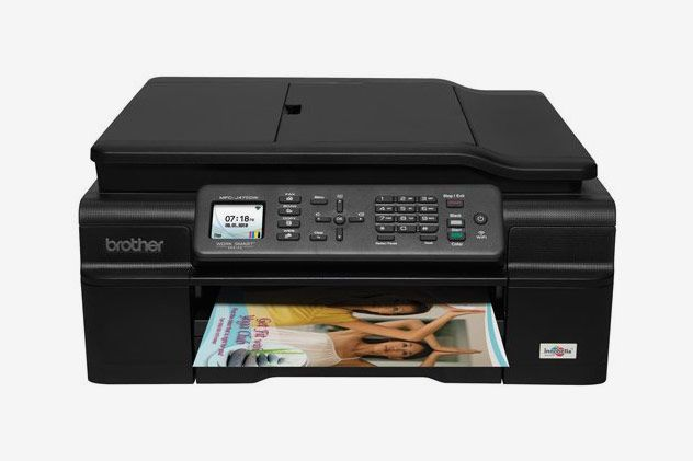 Brother MFC-J475DW Compact Wireless Inkjet All-in-One with Duplex Printing